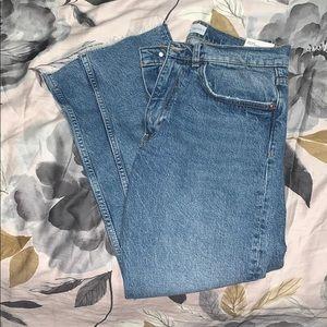 Zara slim slouchy jeans